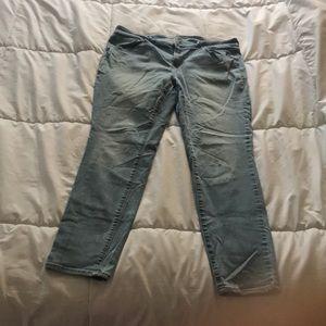 Old navy high waist rockstar skinny jeans 16